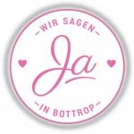 Logo Hochzeitsmesse Bottrop Wir sagen ja