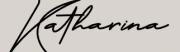 schwarze Schreibschrift auf altrosé Hintergrund